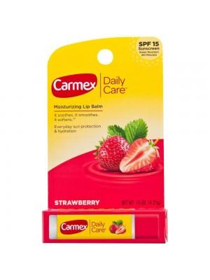 Protetor labial Carmex bastao daily care morango