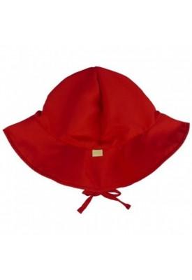 Chapéu Com Proteção Solar FPU50+ Vermelha - Eco Kids Place