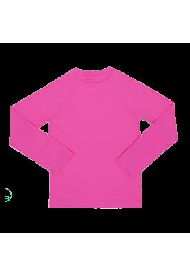 Camisa Manga Longa Pink com FPU 50+ - EcoKids Place
