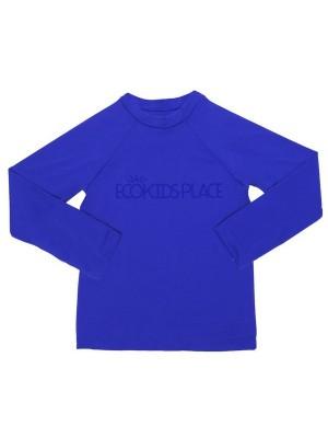 Camisa Manga Longa Azul Royal com FPU 50+ - Eco Kids Place