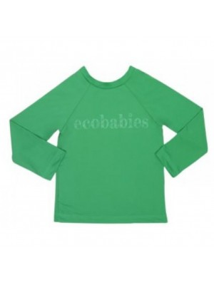 Camisa Manga Longa Verde Com FPU 50+ - Eco Kids Place