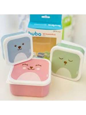 Kit Potinhos Gummy 3 Un - Buba