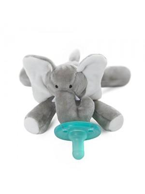 Chupeta Com Naninha- Elefante