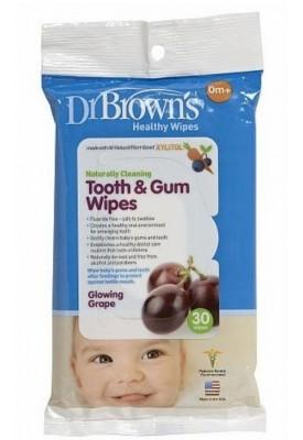 Lenço para Limpeza Da Boca-Dr Brown`S