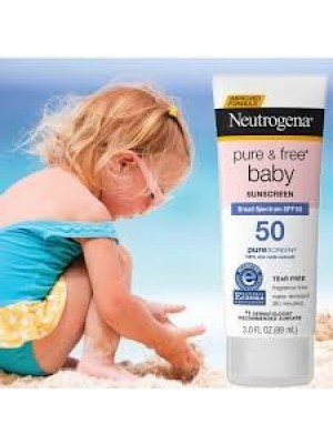Protetor Solar Neutrogena Pure E Free Baby Fps 50 - 88Ml