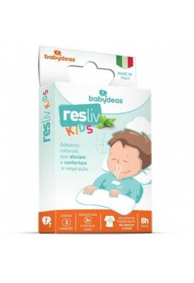 Resliv Kids Alivio Do Desconforto Da Respiração - Babydeas