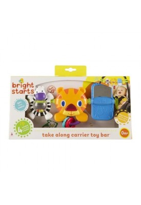 Take Along Carrier Tiger Toy Bar - Bright Starts