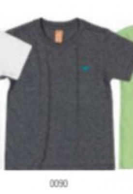 Camiseta Manga Curta Em Meia Malha - Up Baby