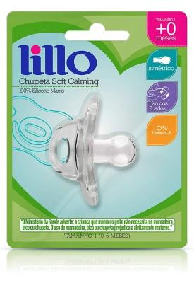 Chupeta Soft Calm 100% Silicone - Lillo