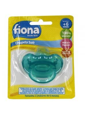 Chupeta Soft Silicone Ortod F2 - Fiona