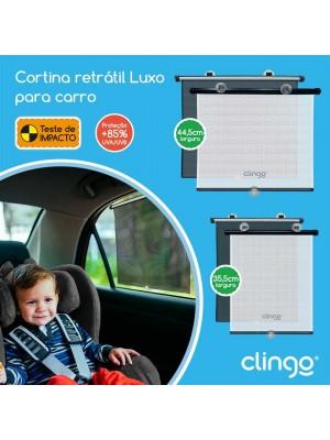 Cortina Retrátil Luxo Para Carro - Clingo