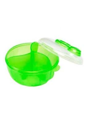 Pote Dosador De Leite Em Pò Verde- Munchkin