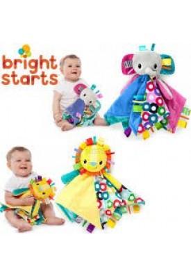 Naninha Elefante Taggies Blankie - Bright Starts