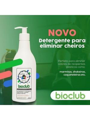Detergente Para Eliminar Cheiros De Utensílios 500Ml Bioclub
