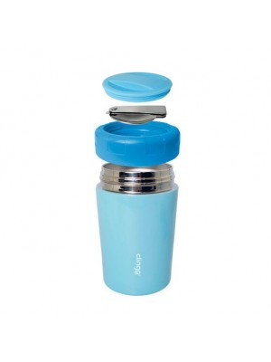 Pote Termico Premium Azul 420Ml - Clingo