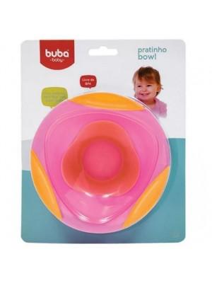 Pratinho Bowl Azul Ou Rosa - Buba