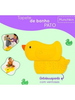 Tapete De Banho Pato - Munchkin