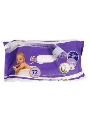 Lenços Umedecidos a base água c/72 - Baby Bath