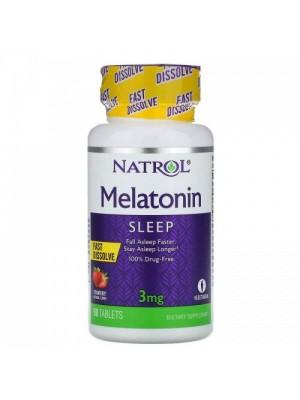 Melatonina 5mg Fast Dissolve (Rápida Dissolução) 90 cap - Natrol