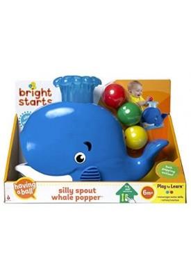 Baleia Solta Bolinhas Silly Spout Whale Popper - Bright Starts
