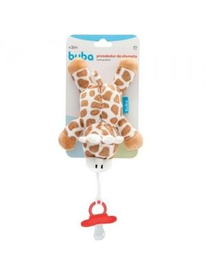 Minha Girafinha Com Prendedor De Chupeta - Buba