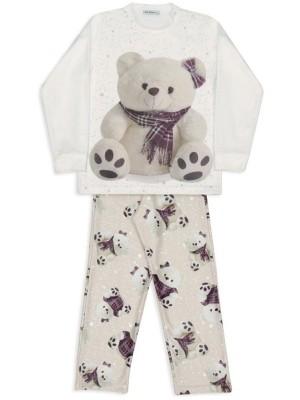 Pijama Em Soft Ursas Xadrez - Dedeka