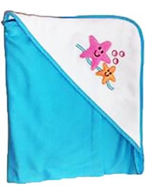 Toalha Luable Friends Atoalhado Toalha Azul Estrela