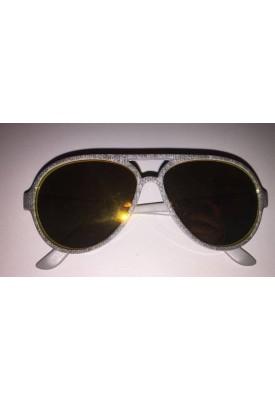 Óculos Espelhado Com A Haste Cinza 0 A 2 Anos - Carter`S