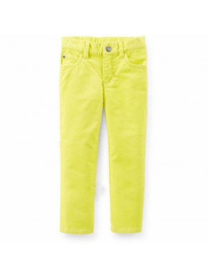 Calça Aveludada Amarela - Carters