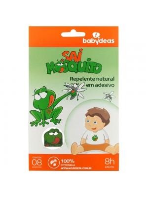 Repelente Adesivo Natural Sai Mosquito - Babydeas