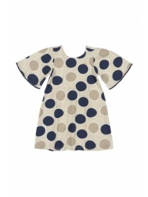 Vestido Manga Curta Em Cotton - Up Baby